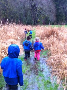 The Outdoor Preschool Blog - Nurture through Nature : Love that you can see what daily life at a Forest Preschool looks like