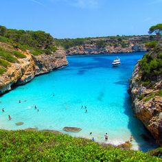 Calos des Moro Beach, Spain  webbygram ©the cool hunter