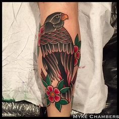 traditional falcon tattoos - Google Search
