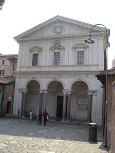 Catacombs of San Sebastiano - entrance.