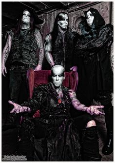 Behemoth is a Polish blackened death metal band from Gdańsk, formed in 1991. Behemoth was formed in 1991 as a trio, with Nergal on guitar and vocals, Baal on the drums, and Desecrator on the guitar.