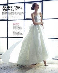 #NOVARESE #ノバレーゼ #ELLEmariage #エルマリアージュ #wedding #dress #P80 #Carolina Herrera #キャロリーナ・ヘレラ