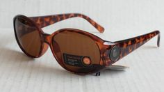 #women sunglasses women Brown Oval sunglasses by STYLIZE manufactured by Foster Grant NWT withing our EBAY store at  http://stores.ebay.com/esquirestore