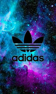 Adidas // Fond d'écran // Iphone Wallpaper // Tendance // Galaxie Etoiles