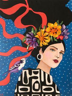 Doodle Art Drawing, Art Drawings, Art Assignments, Paisley Art, Fashion Wall Art, Naive Art, Illustrations, Portrait Art, Portraits