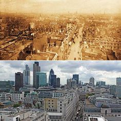Queen's Diamond Jubilee: London, then and now