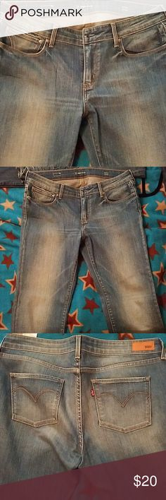 Levis jeans never worn but don't have tags on. 31 slight curve. Mid rise. Straight levi Jeans Straight Leg