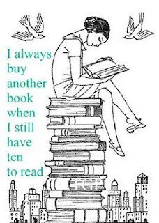 A new chair for me would probably be....a chair of books .