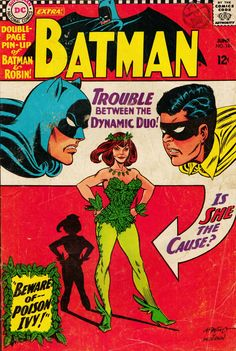 Batman intro to Poison Ivy who was created for TV show but never appeared!