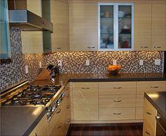 Contemporary Bamboo kitchen contemporary kitchen