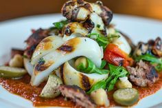 Spanish Calamari. Photo courtesy of the Brass Monkey.