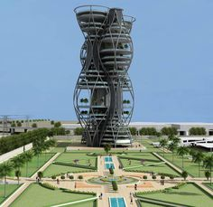 The concept of a Vertical Necropolis designed by architect Annkit kummar in Delhi is presented as a way to satisfy social prospects while proficiently exploiting scarce city land. Architecture Magazines, Unique Architecture, Grand Designs, Built Environment, Modern Buildings, Magazine Design, Building Design, Skyscraper, City