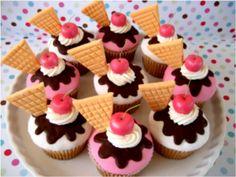 Cupcake Sundaes
