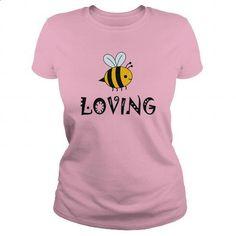 Bee Loving - #long sleeve shirt #mens dress shirt. CHECK PRICE => https://www.sunfrog.com/LifeStyle/Bee-Loving-Light-Pink-Ladies.html?60505