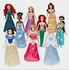 Disney Collection 9-pk. Princess Doll Set - JCPenney http://fave.co/2d1056J
