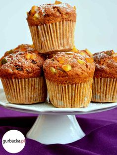 Cooking Recipes, Cupcakes, Snacks, Vegan, Baking, Breakfast, Fit, Supper Ideas, Bread Making