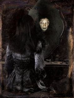 Mirror, mirror on the wall... who is the fairest of them all? Not you, babycakes. Not you.