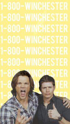 Wallpaper Lockscreen Winchesters SUPERNATURAL