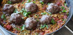 Summer Squash Meatball casserole