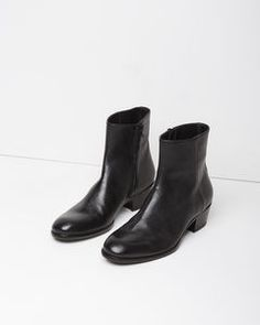 Shop ANKLE BOOTS at La Garçonne