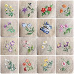new brazilian embroidery patterns Garden Embroidery, Hand Embroidery Flowers, Embroidery Bags, Japanese Embroidery, Brazilian Embroidery Stitches, Hand Embroidery Stitches, Hand Embroidery Designs, Cross Stitch Embroidery, Ribbon Embroidery Tutorial