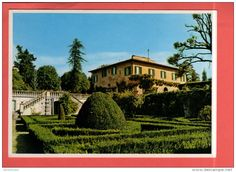 Italie - 1983 Italia Italie Italy Toscana Florence Firenze Villa I Cancelli