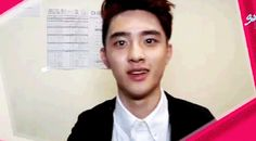 Kyungsoo shooting bullets of love straight into your heart, don't even try dodging it, you're already gone.