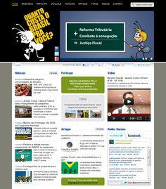 Site http://www.quantocustaobrasil.com.br/