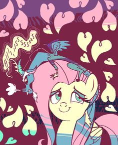 Discord has become a bit overprotective ever since the last changeling invasion. My Little Pony Comic, My Little Pony Drawing, Rarity And Spike, Fluttershy, Discord, Mlp Characters, Little Poni, Mlp Pony, 2d Art