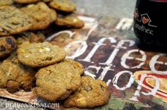 Chocolate Chip cookies for grown ups ... laced with espresso powder!