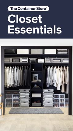 Easy ways to keep your shared closet organized schrank videos Shared Closet Organization Closet Ikea, Ikea Closet Organizer, Bedroom Closet Storage, Wardrobe Organisation, Bedroom Closet Design, Wardrobe Storage, Wardrobe Design, Closet Designs, Organize Bedroom Closets