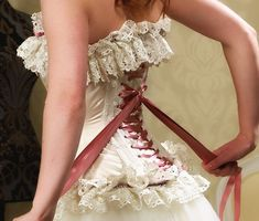 wedding dresses corset - Google Search