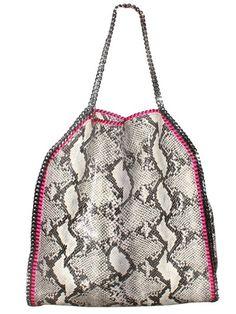 Python big tote bag