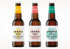 TSMGO recently created the branding and packaging for a new range from Abadía Española, one of the first artisanal breweries in Spain. Branding And Packaging, Beer Packaging, Beverage Packaging, Branding Design, Artisan Beer, Beer Images, Design Innovation, Innovation News, Design Package