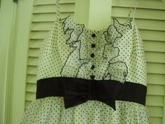 Vintage 1950's 60's Mike Benet Formals White and by TheLastPixie, $130.00
