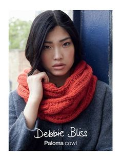 Paloma Cowl from  by Debbie Bliss at KnittingFever.com free pattern