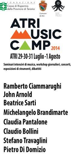 Ufficio stampa e comunicazione per la rassegna 2014 AtriMusicCamp www.atrimusiccamp.it