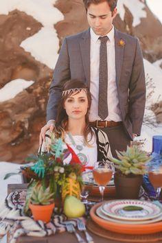 Desert wedding ideas   Tyler Rye Photography   see more on: http://burnettsboards.com/2014/06/desert-wedding-inspiration-shoot-snow/