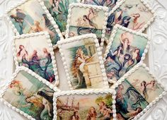 Vintage MERMAID Wafer Papers for Cookies - Edible Images  peter pan party
