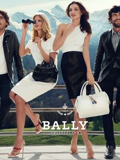Bally campaign 2012...the model, the handbag, the shoes, the look...amazing!