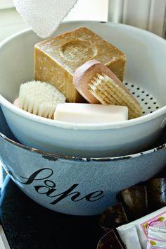 bowl soaps brush beautiful