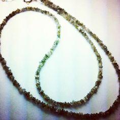 Diamond necklace www.beadsofparadisenyc.com