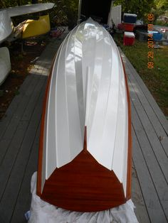 CLC Annapolis wherry double built by Salt Pond Rowing for Adirondack Rowing