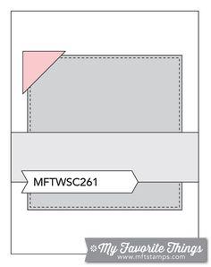 MFT Card Challenges: Wednesday Sketch Challenge - Sketch 261 - #mftstamps