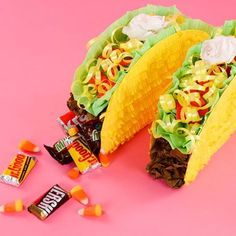 It just isn't a #NationalTacoDay fiesta until there's a taco pinata! #ACMooreInspired
