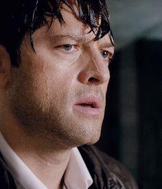 "strengthcas: ""Wet Lucifer/Misha. Hehhe. (11x14) """