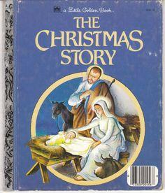 The Christmas Story Little Golden Book Eloise Wilkin,  Jane Werner