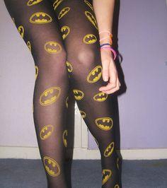 Because Batman is the superior super hero. More like Batman and his bitches. Sheer Leggings, Girls Leggings, Stephanie Brown, Batman Outfits, Batman Shoes, Geek Chic, Batgirl, Batwoman, Courses