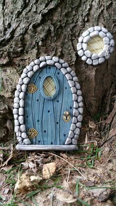 Check out this item in my Etsy shop https://www.etsy.com/listing/238121919/fairy-door-915-and-1-window-hobbit-gnome