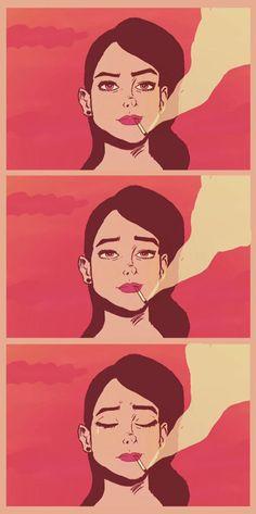 ilustrações pop cartoon mad mari